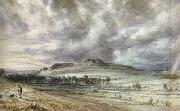 John Constable Old Sarum (mk22) oil painting picture wholesale